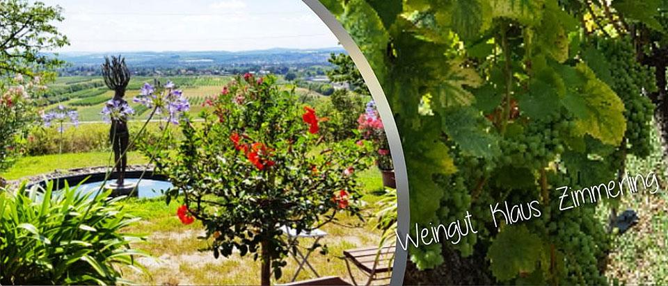 Das Weingut Zimmerling lädt ein zu den Tagen des offenen Weingutes.